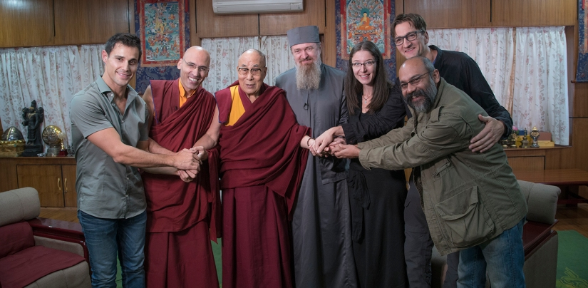 Dalai Lama and Book creators