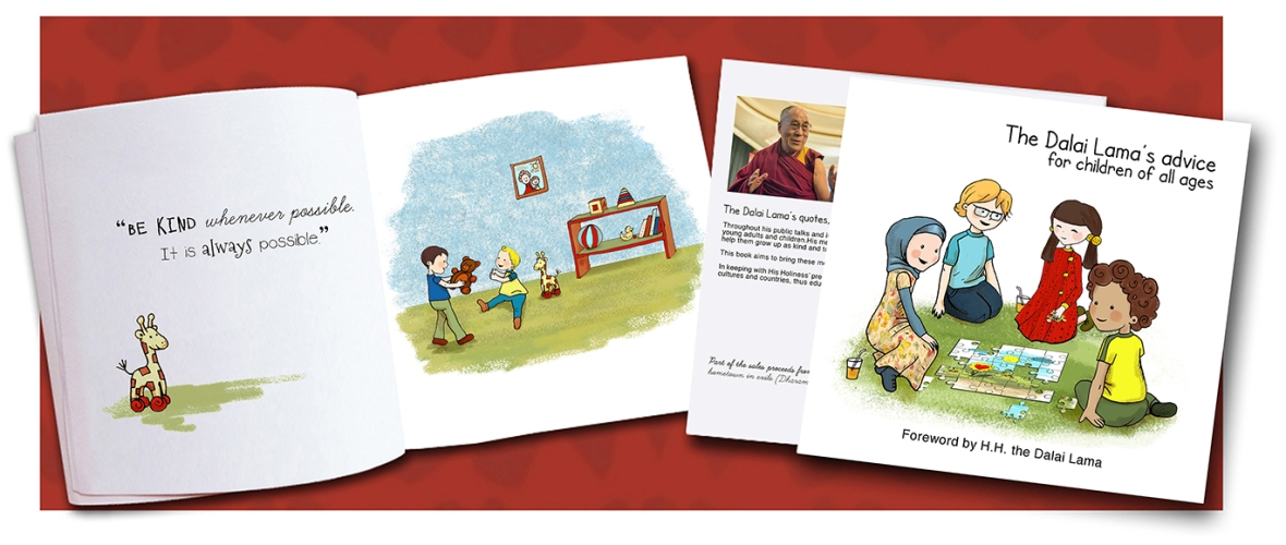Dalai Lama book for children, Buddhism for children book 2